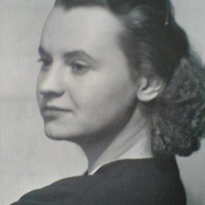 Josef Sudek – Holovská Zdena – klavíristka