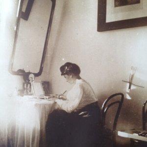 Alfons Mucha fotografem – Maruška Chytilová  1905