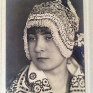 František Drtikol – portrét dívky v kroji