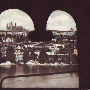Josef Sudek – pohled na Pražský hrad