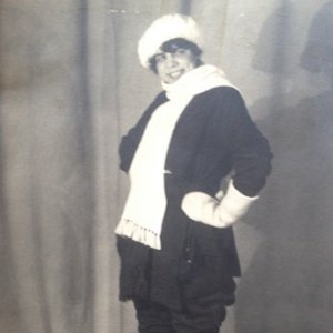 František Drtikol – Ervína Kupferoová v zimním…