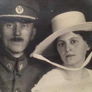 František Drtikol – český legionář s manželkou