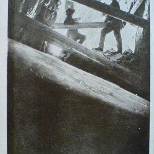 František Drtikol – Doly příbramské – pohlednice