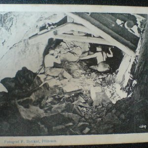 František Drtikol – Pozdrav ze stříbrných dolů příbramských – pohlednice