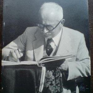 foto Miloš Gallé – president Edvard Beneš 1946
