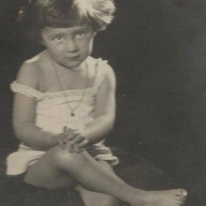 František Drtikol – malá Ervínka