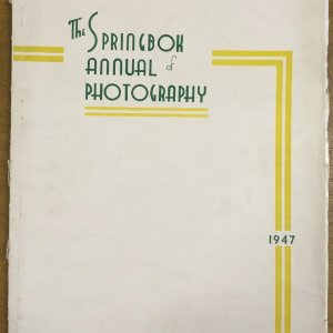 DRTIKOL – The Springbok Annual Photograhhy – Drtikolova knihovna